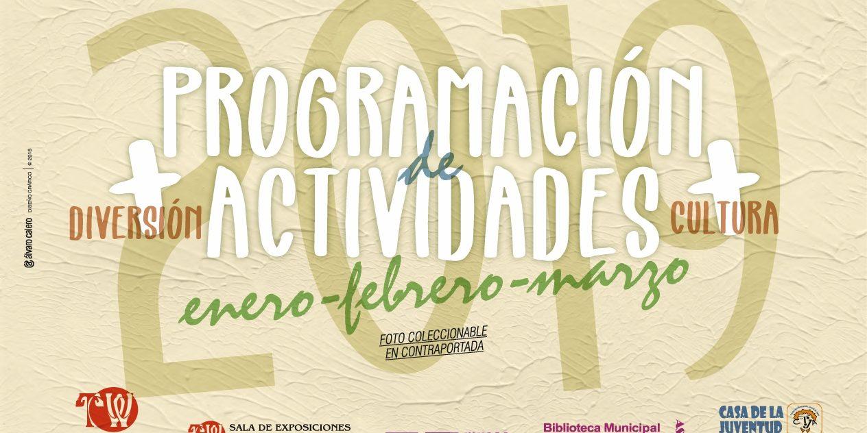 Actividades Culturales Enero Febrero Marzo 2019 Ayuntamiento De Aspe