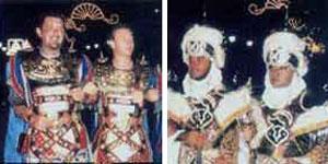 Desfile de fiestas de Moros y Cristianos de Aspe