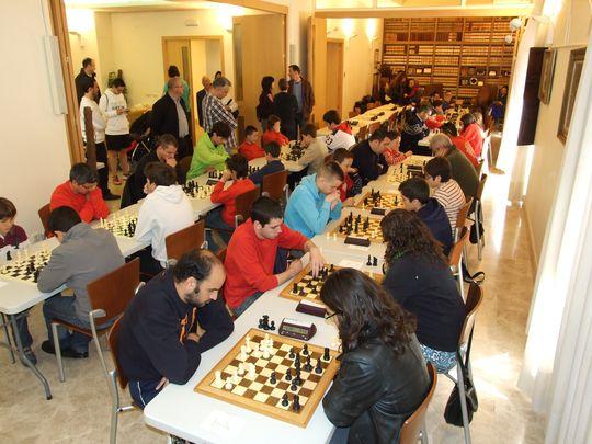 Una jornada de ajedrez en la Casa Consistorial