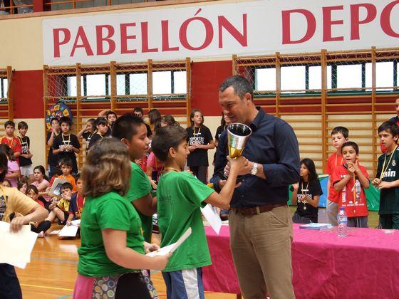 Clausura de las Escuelas Deportivas 2013