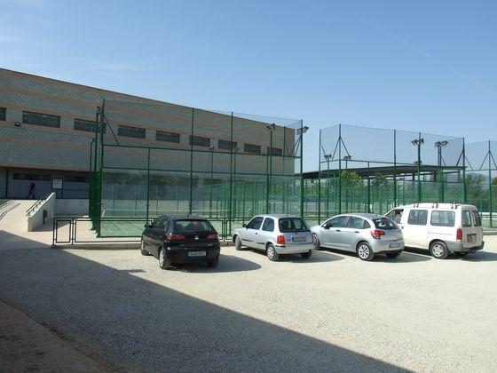 Parking instalaciones deportivas