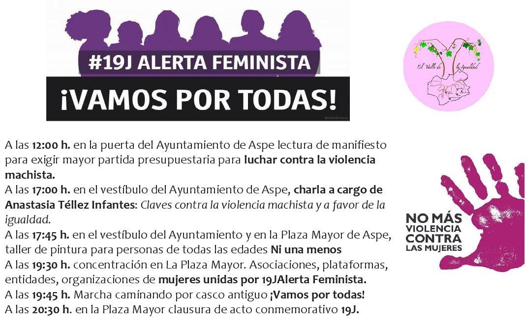 Convocatoria contra violencia género machista 1