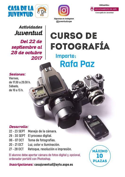 FOTO CURSO FOTOGRAFÍA